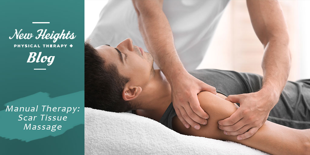 scar tissue massage in Portland OR - New Heights Physical Therapy